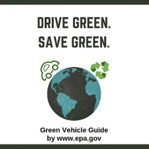 DRIVE GREEN SAVE GREEN